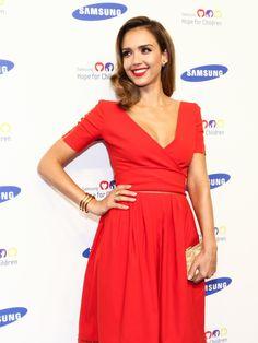 WHO: Jessica AlbaWHERE: Samsung Hope For Children Gala, NYCWHEN: June 10, 2014
