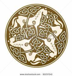 "ancient celtic symbol of ""Epona"" celtic goddess by Marek Hlavac, via ShutterStock Celtic Horse Tattoo, Celtic Tattoos, Tattoo Symbols, Symbols And Meanings, Celtic Symbols, Celtic Knots, Celtic Patterns, Celtic Designs, Chakra Symbole"