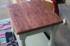 Re-do of an end table - beautiful!