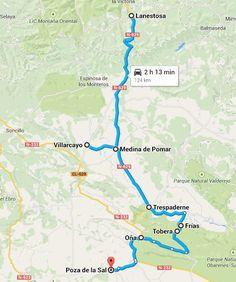 Blog proponiendo rutas de viajes, con un toque diferente Ebro, Map, Trekking, Ideas, Travel Tours, Natural Playgrounds, Beautiful Places, Castles, Places To Visit