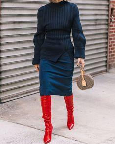 8,218 отметок «Нравится», 52 комментариев — streeTrends (@streetrends) в Instagram: «📸: @collagevintage2 #nyfw #fw18 #ootd #style #fashion #chic #elegant #style #streetstyle…»