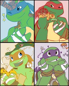 Nickelodeon's Turtles by ~Windgoe on deviantART