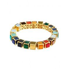 Eddie Borgo Rainbow Bracelet - The 20 CHICEST styles from our September issue: http://www.harpersbazaar.com/fashion/fashion-articles/shop-the-september-issue