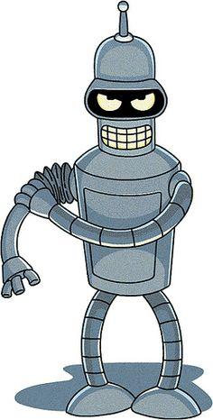 Fry Futurama, Leela Futurama, Futurama Bender, Futurama Tattoo, Futurama Characters, Robot Tattoo, Idee Baby Shower, Sketch Manga, American Dad