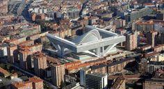 Oviedo Palacio de Congresos, Spain by architect Santiago Calatrava