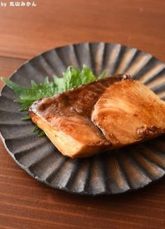 Japanese Buri Teriyaki, Panfried Yellowtail ブリの照り焼き