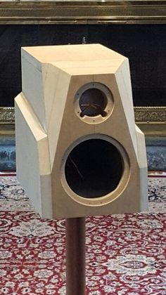 DIY Speakers With Odyssey Dual Mono Stratos + Tempest<br> Pro Audio Speakers, Audiophile Speakers, Built In Speakers, Hifi Audio, Acoustic Design, Audio Design, Diy Bookshelf Speakers, Woofer Speaker, Speaker Plans