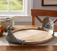 woodland animal place card holders set of 6 pottery barn thanksgiving decor pinterest. Black Bedroom Furniture Sets. Home Design Ideas