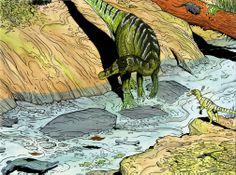 Baryonyx walkeri #spinosaur #theropod #dinosaur ricardo #delgado