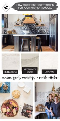 How to choose the perfect kitchen countertop Basement Renovations, Home Remodeling, Basement Layout, Transitional Home Decor, Cambria Quartz, Mediterranean Decor, Simple House, Cheap Home Decor, Countertop