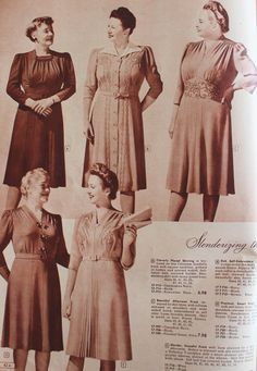 Take a look at what plus size 1940's fashion looked like and where to buy vintage inspired 1940s dresses in plus sizes now.