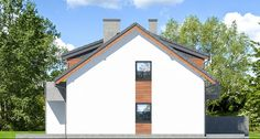 Projekt domu Dom w klematisach 20 (B) - ARCHON+ Shed, Outdoor Structures, Barns, Sheds