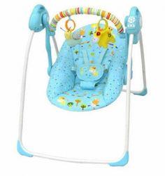 Nama Barang: Baby Elle Portable Swing Elektrik Blue Merk: Baby ElleUkuran(PLT): 58x13x36Fitur :– ayunan otomatis ( memakai adaptor atau baterai )( s