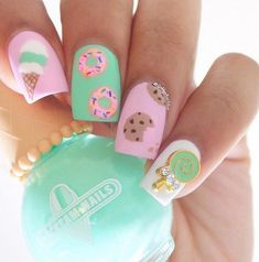 Doughnut Nail Art Ideas   POPSUGAR Beauty