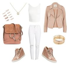 """""""Pale mood"""" by lily-lovejoy on Polyvore featuring мода, DL1961 Premium Denim, Sans Souci, River Island, Giuseppe Zanotti, Chloé, Mudd, Cartier и Forever 21"""