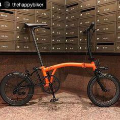 Tern Bike, Velo Brompton, Bike Gang, Folding Bicycle, Push Bikes, Road Bikes, Powder Coating, Instagram, Bike Stuff