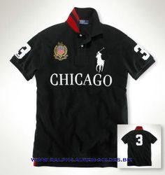 Ralph Lauren City Polo Chicago Black All polo products are from authentic  polo factory,sale without tax. d2f22806707