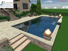 Custom Pool Design Ideas | 62 Best Custom Pool Designs Images On Pinterest Custom Pools