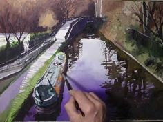 Watercolour demonstration by Paul Talbot-Greaves. Using Saunders Waterford paper.  http://www.talbot-greaves.co.uk/