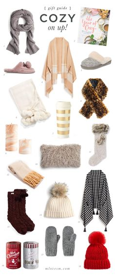 Gift Guide: Cozy On