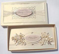 Papierowa mania -wedding card