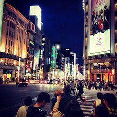 銀座 (ぎんざGinza),有许多企业展厅和高档品牌