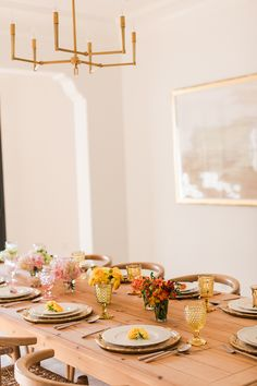 How to recreate this beautiful ombre table for fall