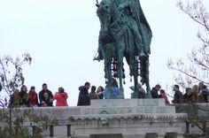 Statue of St Stephen Budapest
