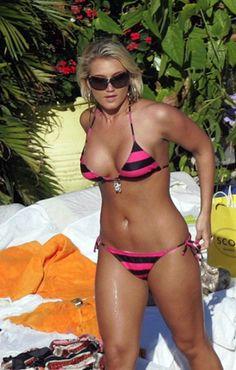 2 headed girl bikini
