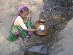 Spending 4 hours and walking 8 to 10 kilometers daily for water burns a lot of energy of women for whom it is a daily struggle. The situation becomes worst during rains .  Support Janvikas http://www.globalgiving.org/projects/water-for-1500-families-in-india/
