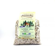 ''ANTONOPOULOS FARM'' Zea flakes The Prehistoric eek Cereals triticum   BIO Prehistoric, Flakes, Cereal, Greek, Tea, Drinks, Products, Drinking, Beverages