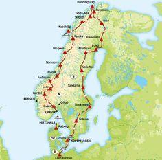 Noordkaap - Lofoten