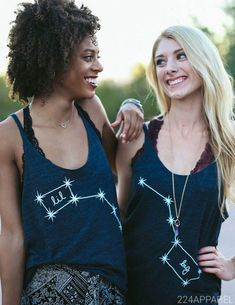 Big Little Dippers Constellation Tanks | The 224 Store