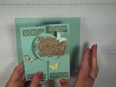 Simply Simple FLASH CARD - You're Amazing Circle Card by Connie Stewart