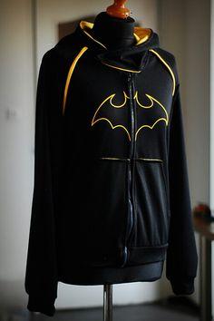 Cassie Cain Batgirl hoodie