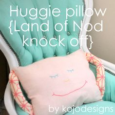 land of nod knock off pillow tutorial. To add to the multitude of pillows I want to put on her daybed.