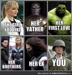 Top 30 Funny Marvel Avengers Memes - Quotes and Humor Avengers Humor, Marvel Avengers, Marvel Jokes, Funny Marvel Memes, Dc Memes, Memes Humor, Funny Humor, Hilarious Memes, Funny Superhero Memes