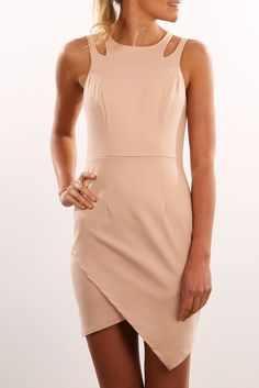 Check out this product from Jean Jail: Unassigned: Splice Dress Beige