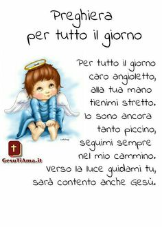 Chicco Positive Energie, Prayers For Children, Italian Language, Prayer Board, Winnie The Pooh, Smurfs, Catholic, Homeschool, Bible
