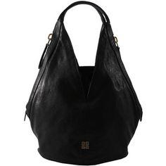 063af07df3e Black Leather Tinhan Hobo Bag, Givenchy Hobo Purses, Black Luxury, Purse  Styles,