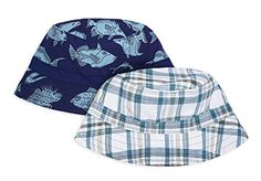 64d7f2ef Baby Boys Keepersheep Baby Reversible Baseball Cap Infant Sun Hat Shell  Embroidery Cotton