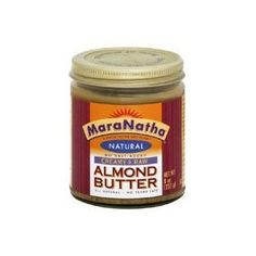 Maranatha Natural Almond Butter 26oz Lightly Roasted