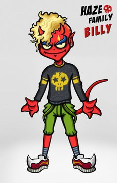 Urban Devil - Haze Family 15 - Billy  / Creator, Characters and Illustrations by PEPPERJERRY