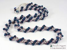 Bead Origami: A Spiral Rope and Beaded Swatches