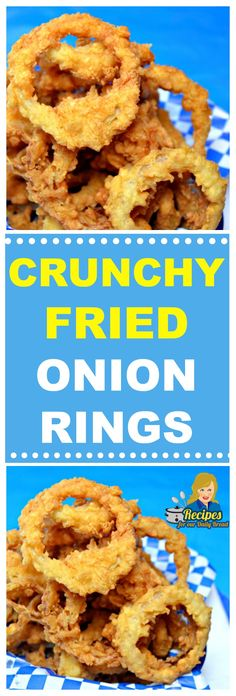 I finally figured out how to make super Crunchy Fried Onion Rings. What is the secret to making Crunchy Fried Onion Rings? Quick And Easy Appetizers, Easy Appetizer Recipes, Best Appetizers, Salami Appetizer, Onion Recipes, Veggie Recipes, Cooking Recipes, Onion Burger, French Fried Onions