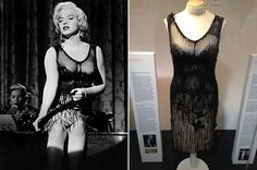 Marilyn's black dance number dress from Some like it Hot, 1959