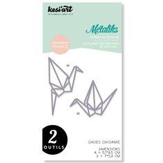 Forme de découpe - Grues origami GM : 5,1 x 8,5 cm