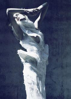 'Saint Olivier' by Mario Sorrenti for Vogue Paris, October 2007