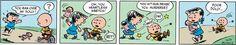 Peanuts Begins Comic Strip, January 30, 2016     on GoComics.com