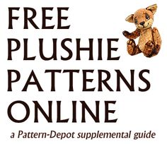 Tons of free sewing patterns for stuffed animals